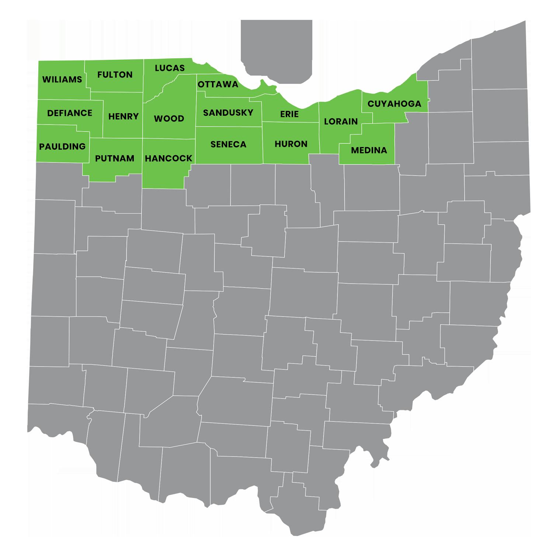 RES Ohio Service Area